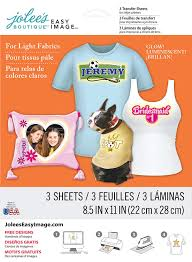Jolee S Boutique Easy Image For Light Fabrics Instructions Jolees Boutique Easy Image Transfer Paper For Light Fabrics