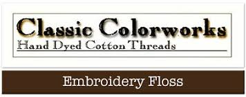 Belle Soie Conversion Chart Classic Colorworks Hand Over Dyed Embroidery Floss Thread