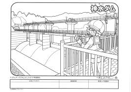 神水ダムぬり絵コンテスト開催 神川町観光協会