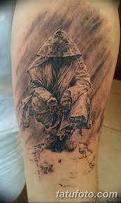 значение тату монах в капюшоне смысл история фото эскизы