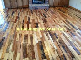 Repurposed Pallets Magnificent Diy Pallet Floor A Thrifty Repurposed Pallets  To A Beautiful