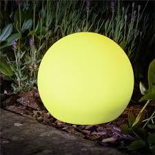 smart garden solar lunieres orb lantern
