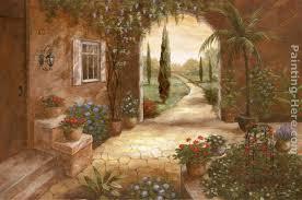 secret garden ii painting vivian flasch secret garden ii art painting