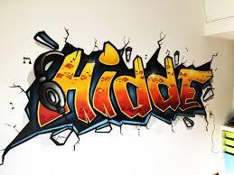 Graffiti Behang Of Een Echte Graffiti Op Jouw Muurkinderkamer Graffiti