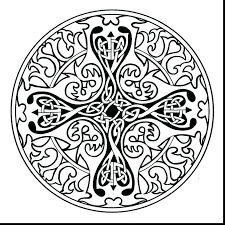 awesome celtic mandala coloring pages collection 9 e unbelievable cross mandala coloring pages with