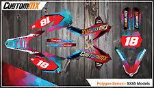 2018 ktm graphics. plain ktm ktm sx85 full graphics kit 20032012 20132017 2018 sx 85 polygon intended ktm graphics