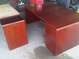 Next office desk Ideas Testcherry Wood Office Deskjpg Test Cherry Wood Office Deskjpg
