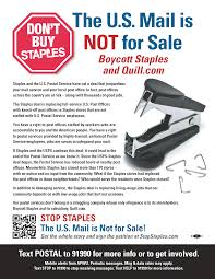 staples protest materials apwu stop staples 1 sided flyer for the public stop staples the u s mail is not for