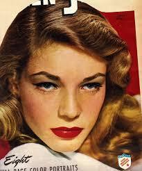 lauren bacall 1940s make up