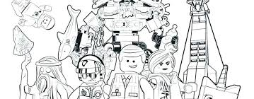 Lego Movie Coloring Pages To Print Free Printable Movie Coloring