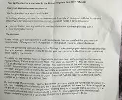 Uk Visitor Visa Refused Multiple Sponsors Travel Stack Exchange