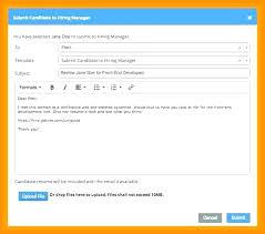 Resume Sample Letter For Sending Resume How To Send A Via Email