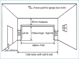 Garage Doors  Dimensions Of Two Carage Elegant Mon Door Size Size Of A Two Car Garage