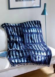 african decor furniture. handmade african indigo throw blanket decor furniture d