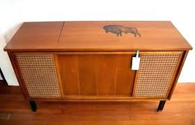 vin stereo cabinet with turntable cabinets home office mid century plans stereo cabinet