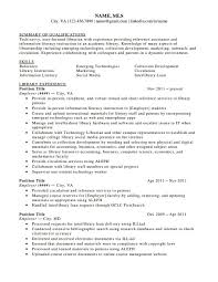 Librarian Resume Sample Www Fungram Co Resumes Library Childrens
