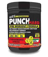 hp 27 punch hard preworkout 500 gm