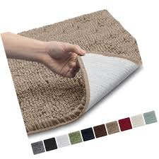 gorilla grip the original gy chenille bathroom rug mat 3 sizes and 10 co