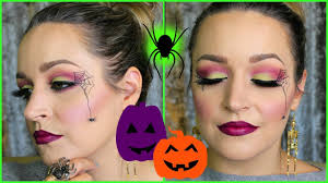 easy eyeshadow tutorial no costume needed simple spiderweb dreacn