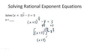 how solve rational exponents visualize how solve rational exponents thumb 540 50 portrayal endearing