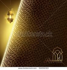 lighting pattern. ramadan kareem greeting card template islamic morocco pattern background banner design and arabic lantern lighting