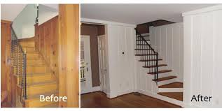 painted wood walls painted wood paneling before after painting wood paneling color ideas