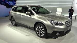 2015 subaru outback redesign. Delighful Outback 2016  Subaru Outback AWD Exterior And Interior Geneva Motor Show 2015  YouTube Intended Redesign