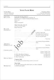 How To Write A Simple Resume How To Write A Resume For The First ...