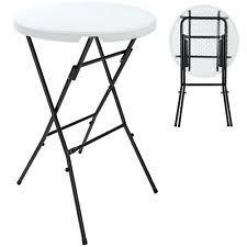 Table bistrot ronde dans tables de jardin et terrasse | eBay