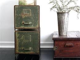 Vintage metal office furniture Decor Vintage Metal File Cabinet Cabinets Industrial Office Furniture Filing With Safe Trespasaloncom Vintage Metal File Cabinet Cabinets Industrial Office Furniture