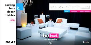 kool furniture. Kool. Website Desktop Home Page Design Kool Furniture