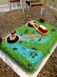 Tubing The River Cake Food Drink In 2019 Cupcake Cakes