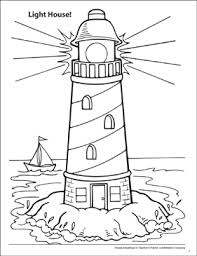 Show them your love and affection and let them show their artistic and creative sides. Light House Ocean Adventure Coloring Page Printable Coloring Pages
