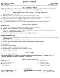 Writing A Technical Resume Magnificent Example Of Engineering Tech Resume Httpexampleresumecvorg