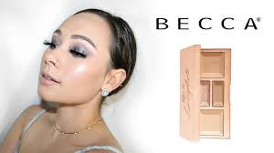 Becca Be Light Face Palette Becca Be A Light Face Palette Review Swatches