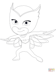 Small Picture Owlette from PJ Masks coloring page Free Printable Coloring Pages