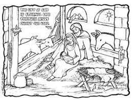 Coloring picture of judas takes silver. Christmas Nativity 500 Free Colouring Pages For Kids Paper Gifts For Estefany