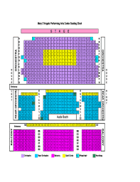 Fillable Online Mary Dangelo Performing Arts Center Seating