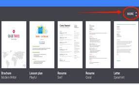 Google Drive Templates Resume Interesting 44 Great New Google Docs Templates For Teachers Educational