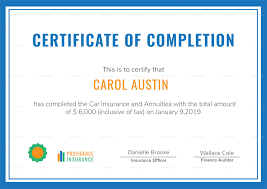 Completion Certificate Sample Class Completion Certificate Template My Future Template