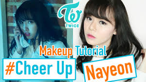 makeup turorial makeup twice cheer up twice cheer up nayeon twice