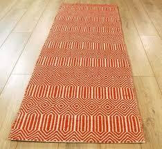 custom runner rugs orange hall runners rugs modern rugs custom length runner area rugs