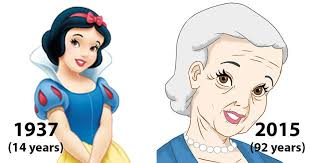Disney Princess Age Chart I Made Disney Princesses Look The Age Theyd Be Today