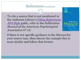 Ppt Apa Citation Style Powerpoint Presentation Id2087461