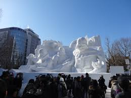 the th sapporo snow festival a photographic essay erik abroad first up for the morning was this stunning star wars sculpture even if the sith theme song was not playing in the background you could hear darth vader s
