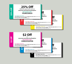 coupon design editable coupon template print your own etsy coupons 6