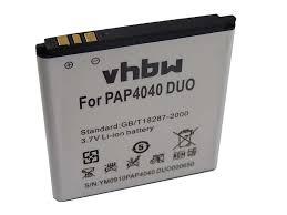 Prestigio MultiPhone 4040 Duo, 1500 mAh ...