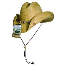 Blue Chair Bay Western Raffia Hat Explorer Hats