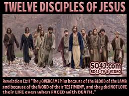 Twelve Disciples Of Jesus Chart 12 Disciples Names List