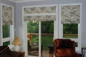 lovable roman shades for patio doors designs with glass door shades for sliding glass doors bamboo roman shades for
